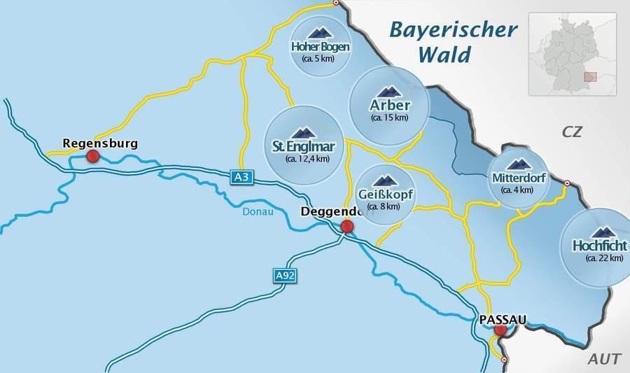 Skifahren In Der Region Bayerischer Wald Skigebiete Snowboarden